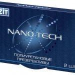 Упаковка презервативов «Визит Нано-тек»