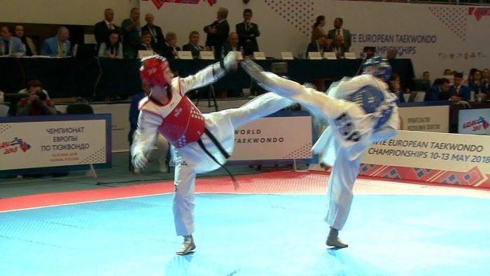 Олимпийские соревнования по тхэквондо