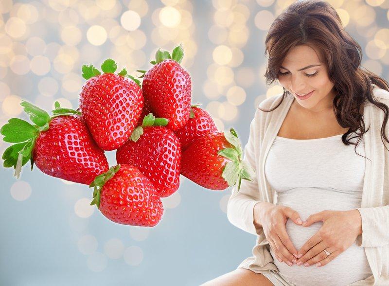 Клубника польза и вред при беременности