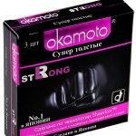 Презервативы Okamoto Strong в упаковке