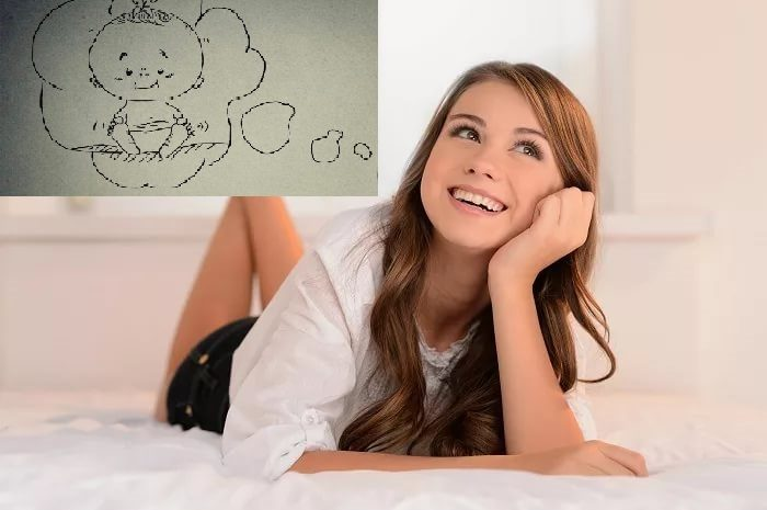 Девушка-подросток мечтает о ребёнке