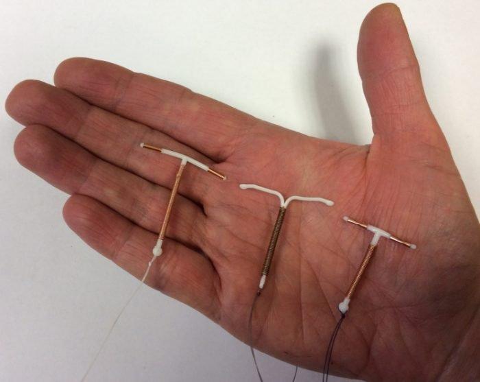 Медьсодержащие внутриматочные спирали