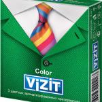 Презервативы Visit Colour