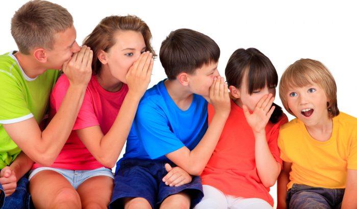 Дети шепчутся