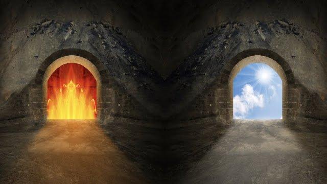 Символические дороги, ведущие в ад и в рай