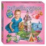 Напольная игра-бродилка с 3D-полем «Сказочное королевство»