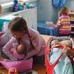 Ролевая игра «Дочки-матери»
