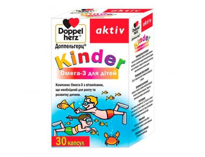 Доппельгерц Kinder Омега-3