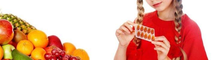 Ребёнок и витамины