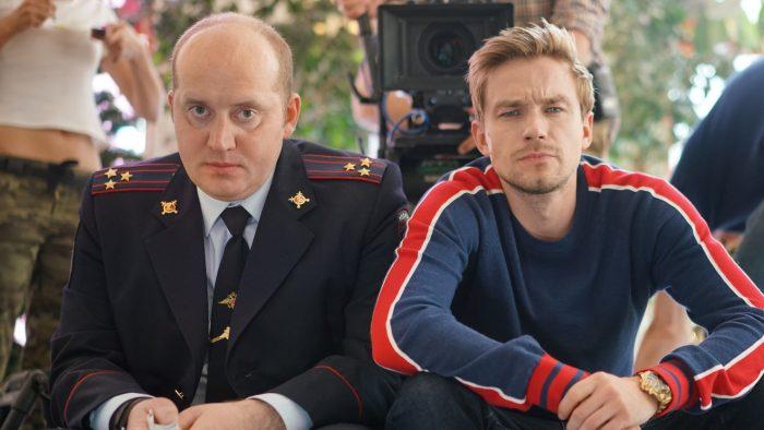 Кадр из сериала «Полицейский с Рублёвки»