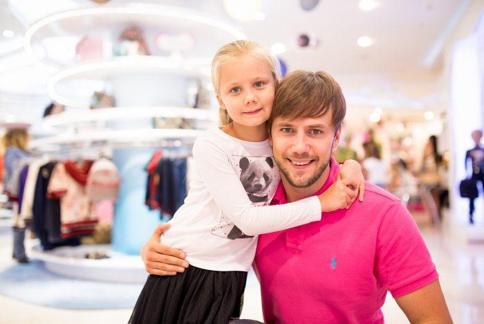 Актёр Иван Жидков с дочерью
