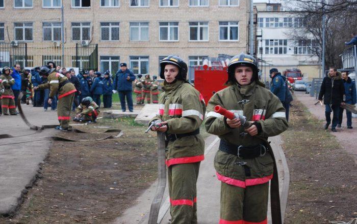 Специальность «Пожарный»
