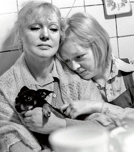 Людмила Гурченко с дочерью