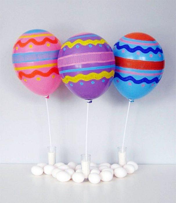 Пасхальные воздушные шары