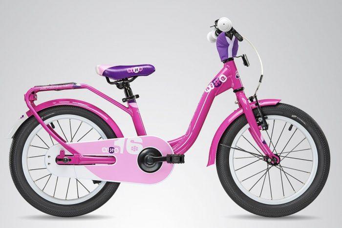 Детский велосипед с открытой рамой