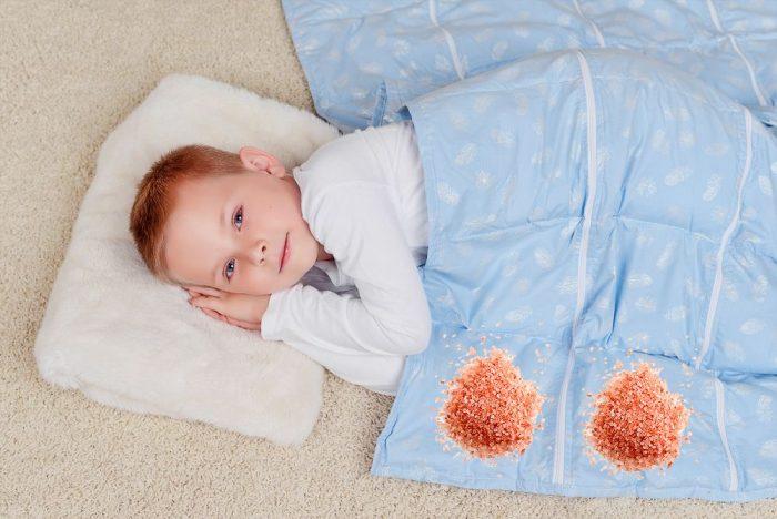 Малыш пол утяжелённым одеялом