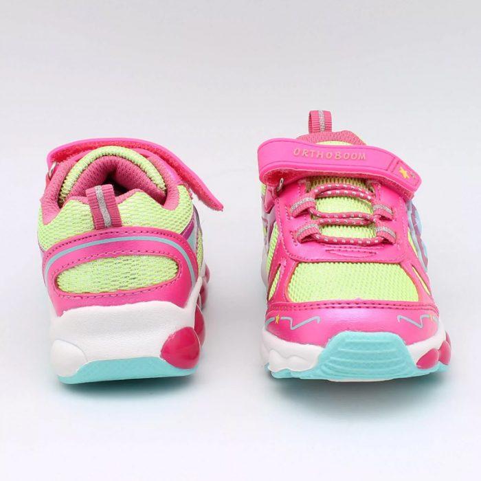 Ортопедические кроссовки со шнуровкой и липучкой