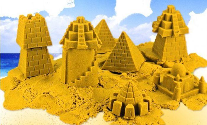 Замок из кинетического песка