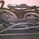 Шасси коляски в сложенном виде