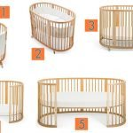 Варианты использования круглой кроватки-трансформера