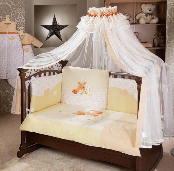 кроватка со съемной стенкой