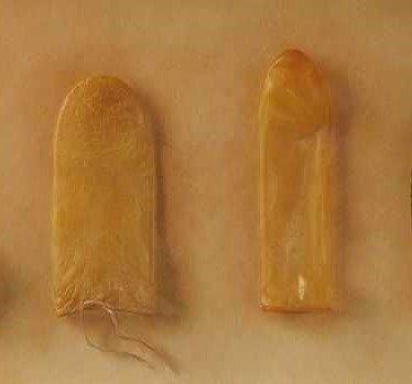 Средневековые презервативы из кишек животных