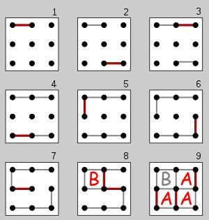 Пример игры Палочки