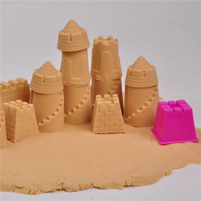 Башни из кинетического песка