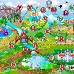Игровое поле Учим буквы