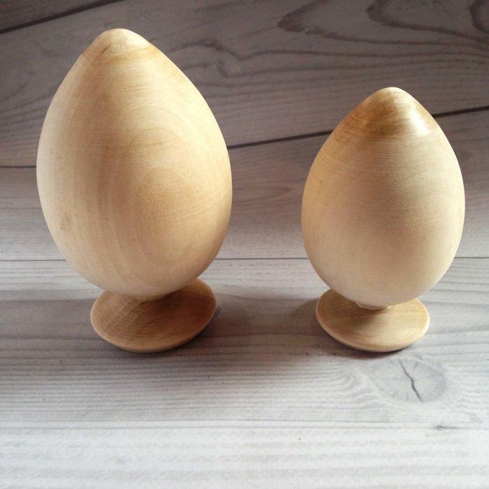 Деревянное яйцо