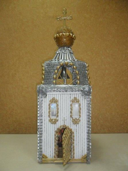 Храм из макаронных изделий