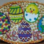 Рисунок пластилином «Пасхальные яйца»