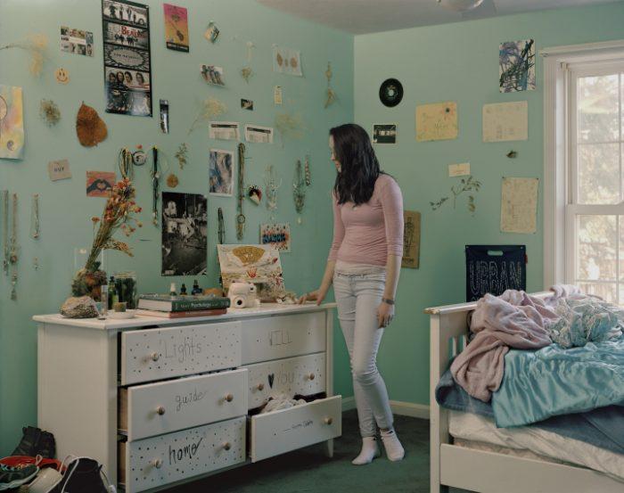 комната американской девушки