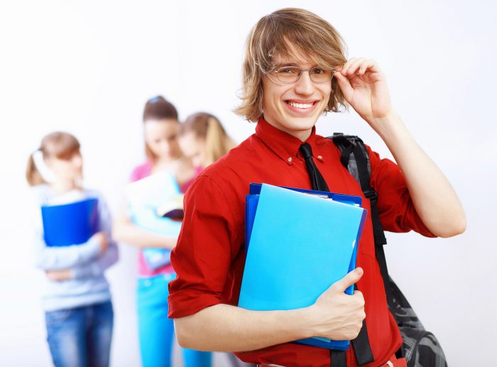 Весёлый студент