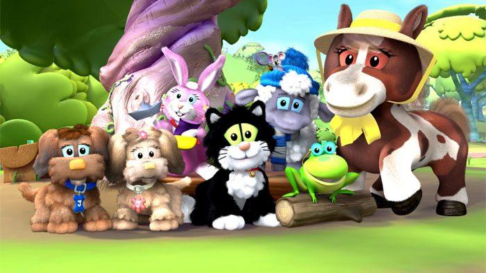 котенок Джесс и его друзья