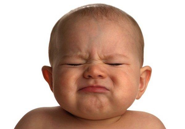 Расстроенный малыш