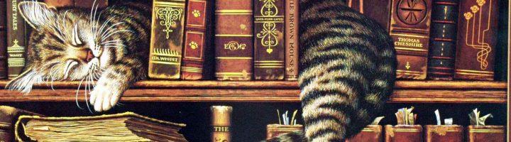 рисунок кот ученый