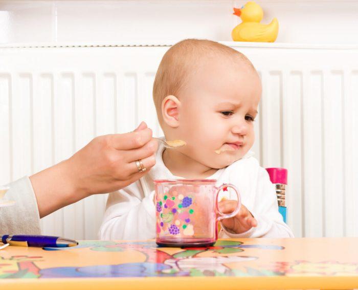 Отказ ребёнка от прикорма