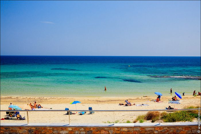 испанский пляж
