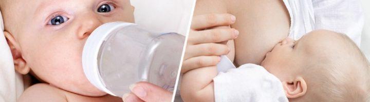 Прикорм при смешанном вскармливании не только знакомит младенца со «взрослой» едой, но и даёт шанс маме наладить кормление грудью.