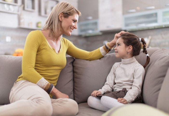 Беседа мамы с дочкой