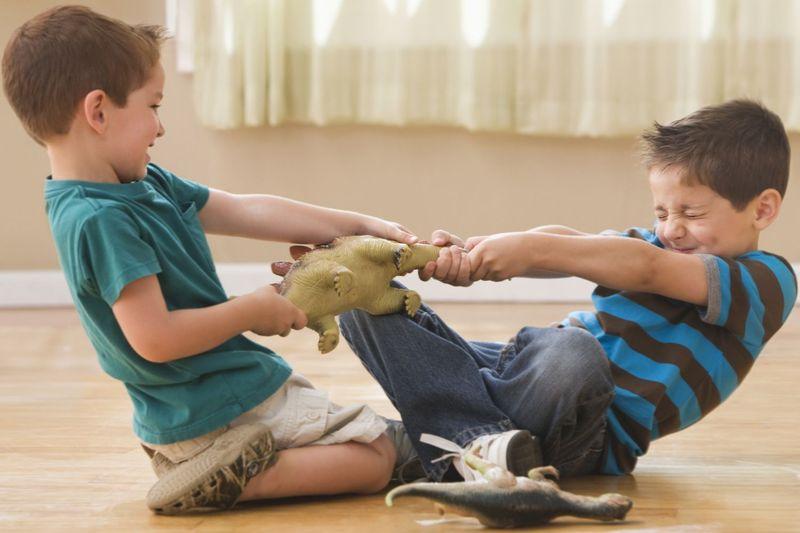 Почему нельзя заставлять малыша делиться игрушками