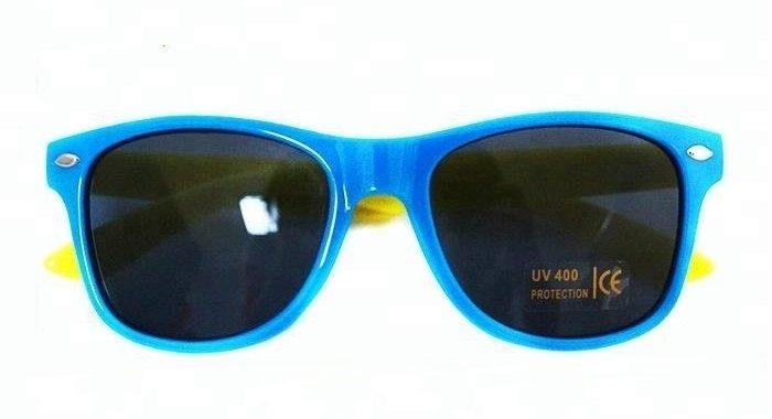 На линзе очков маркировка UV 400