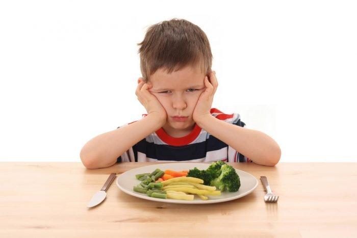 Еда вызывает у ребёнка неприязнь
