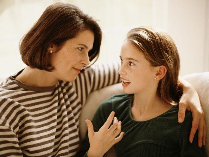 Откровенный разговор мамы и дочки