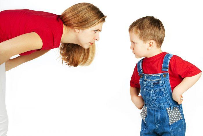 Ребёнок отстаивает своё мнение