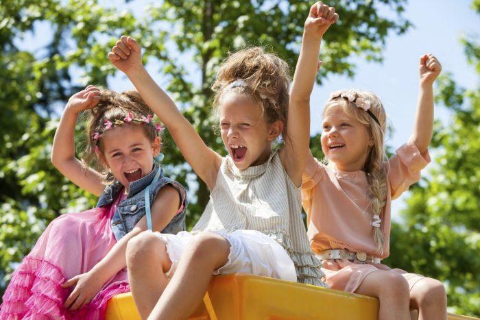 Радостные детские эмоции
