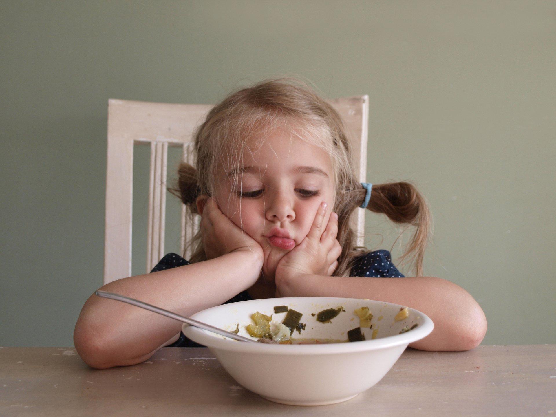Ребенок плохо ест похудел
