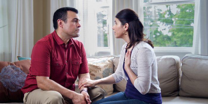 Разговор между мужем и женой
