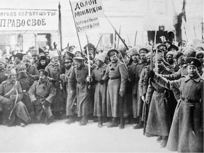 Фото времён революции в России (1917 г.)